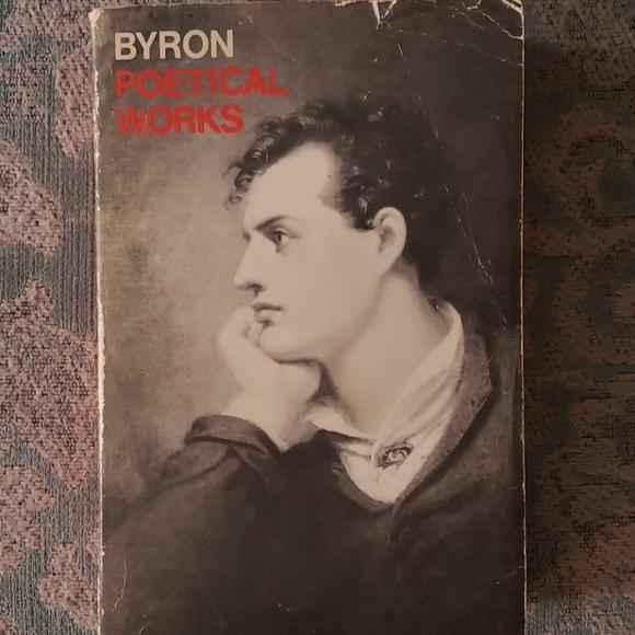 Byron Poetical Works - Vintage